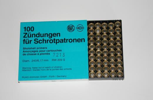 Anzündung Nr. 209 S, 6,17 mm