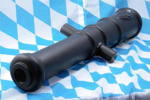 Rohr für Vorderlader-Kanone, 800 mm, Bohrung 50 mm